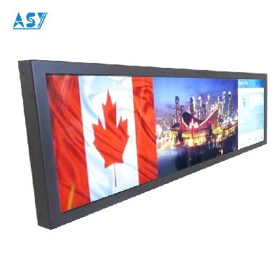 Retail Digital Signage multi screen video wall ultra narrow lcd screen
