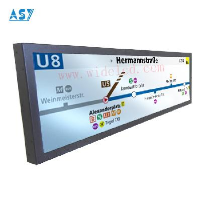HD Ultra Wide Bar LCD display for advervising Display