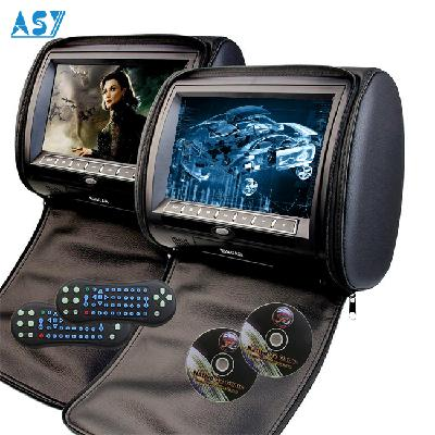7 Inch Taxi Back Seat Advertising Headrest TV TFT LCD Monitor