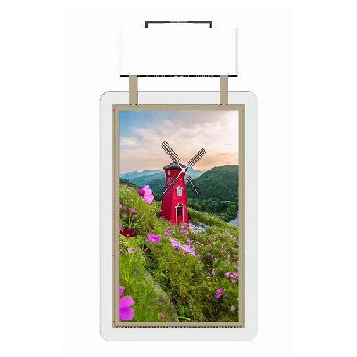 Advertising display 43 inch double sided display indoor application