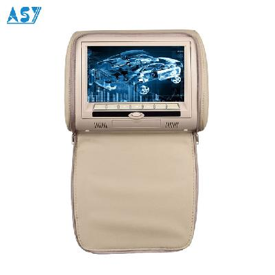 12V Back Seat 2 Channel Video Input Car DVD Headrest Monitor