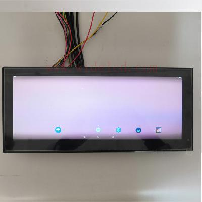 12.3 inch car multimedia entertainment system lcd display capacitive touch lcd for bus