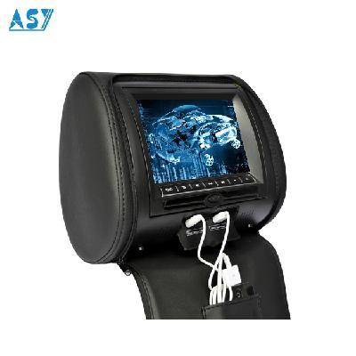 9 Inch Car Seat Pillow Games Headrest DVD Player