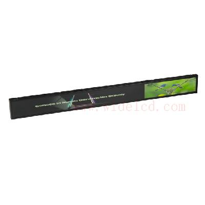 LCD shelf display with electronic price tags to enrich your store