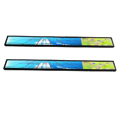 Surpermarket shelf lcd with lcd backlight strip
