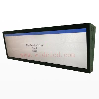Hanging double sided lcd display digital signage display  for advertising player