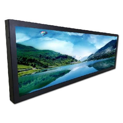 Ultra Thin LCD Screen Electronic Information Display for Railway