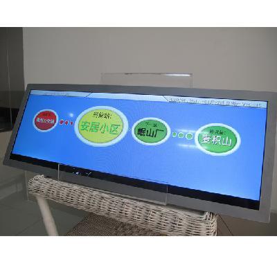 Bus Train Transportation LCD Monitor Passenger Advertising Display
