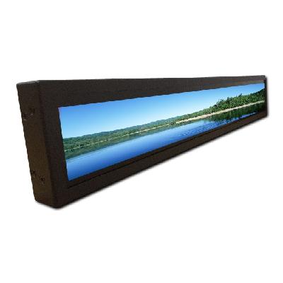 Ultra Wide Stretched Monitor Intelligent Shelf LCD