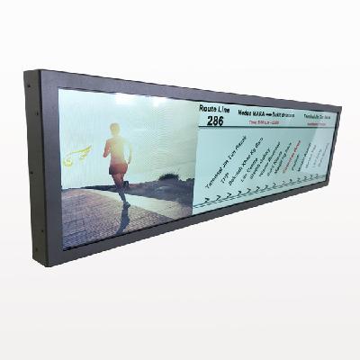 Railway Passenger Information Ultra Wide TFT Screen