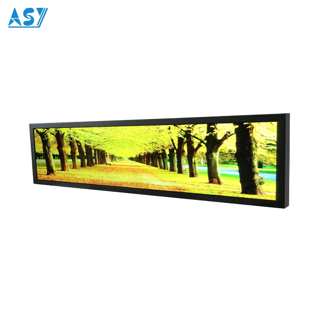 PIS Onboard 12 Volt Stretched Ultra Widescreen LCD for Bus