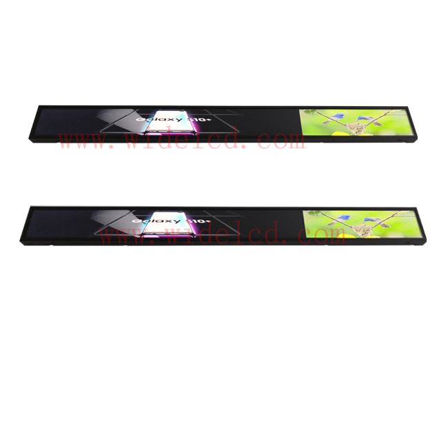 Shelf edge digital display shelf screen Advertising Media Player for supermarket