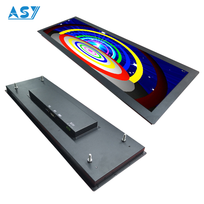 Durable Long Ultra Wide Stretched Bar LCD for PIS solution