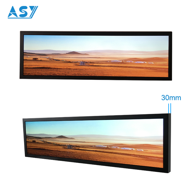 Customized Cut Size 1920x540 Stretched Monitor Displays