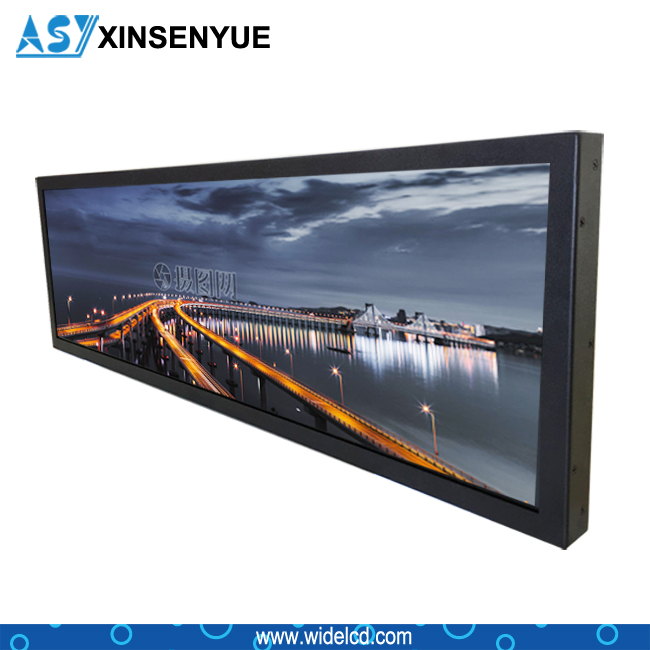 1080P Passenger Information Stretch LCD Displays for Bus