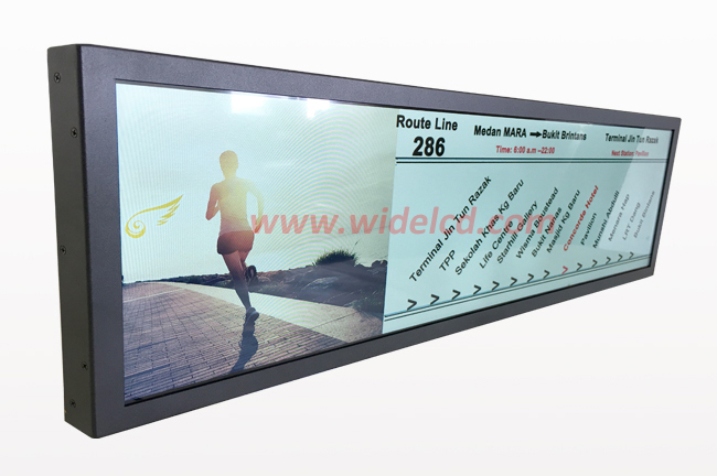 Advertising Digital Display Cheap Stretched LCD
