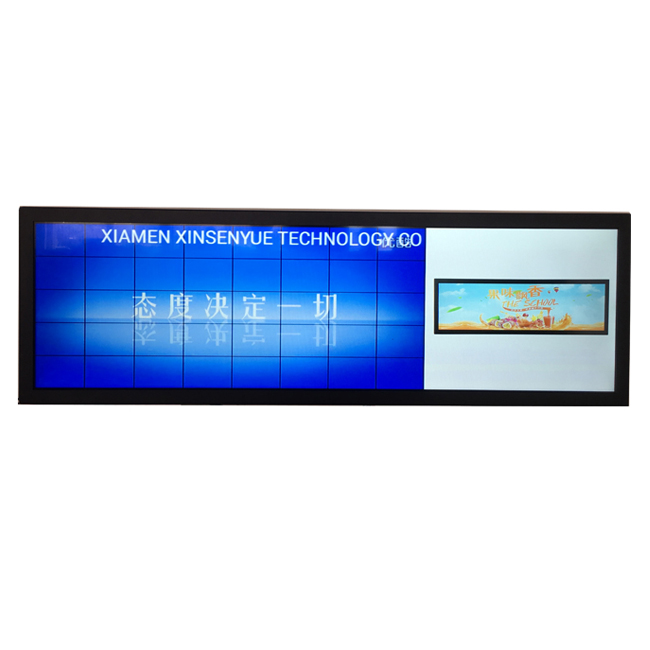 Leading Manufacturer 28.6-Inch Ultra Wide LCD Display for Electric Bus