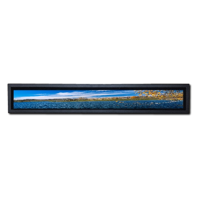 New design bar type shelf lcd for sale